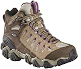 Oboz Sawtooth Mid BDry Hiking Shoe - Women's Violet 10