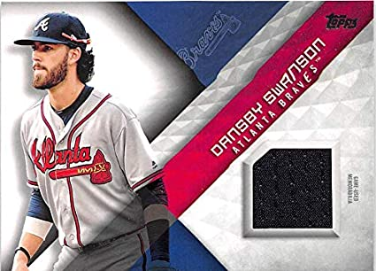 cb87a1ab1 Baseball MLB 2018 Topps Major League Material Relics  MLM-DS Dansby Swanson  NM-