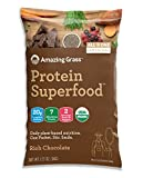 #8: SAMPLE SIZE Amazing Grass Organic Plant Based Vegan Protein Superfood Powder, Flavor: Rich Chocolate, 1.27oz Packet, Meal Replacement