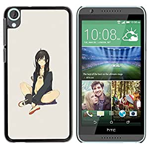 Impact Case Cover with Art Pattern Designs FOR HTC Desire 820 Cute Sexy Japanese Anime Girl & Cat Betty shop