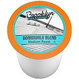 Brooklyn Beans Boardwalk Blend Coffee Single-cup coffee for Keurig K-Cup Brewers, 40 Count