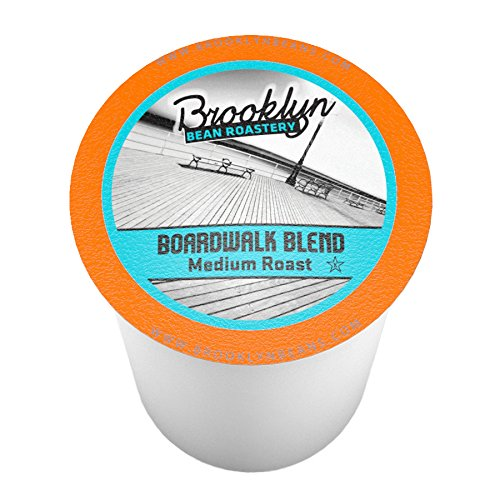 Brooklyn Beans Boardwalk Intermingling Coffee Single-cup coffee for Keurig K-Cup Brewers, 40 Count