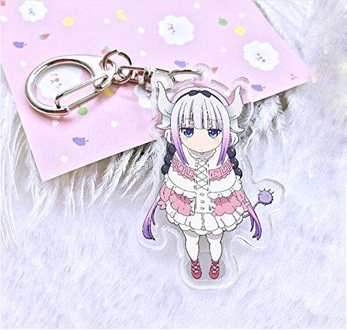 TONGROU Anime Miss Kobayashi's Dragon Maid Kamui Kanna Keychain Keyring Gift