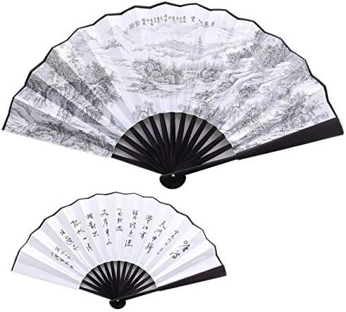 Folding Fan Home Ventilador Plegable de Mano Ventilador Chino ...