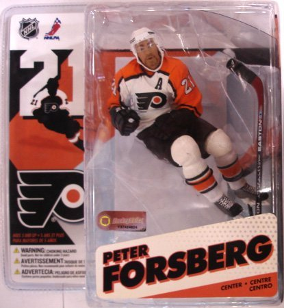 Mcfarlane Toys Nhl Sports Picks (McFarlane Toys NHL Sports Picks Series 12 Action Figure Peter Forsberg (Philadelphia Flyers) White Jersey Variant)