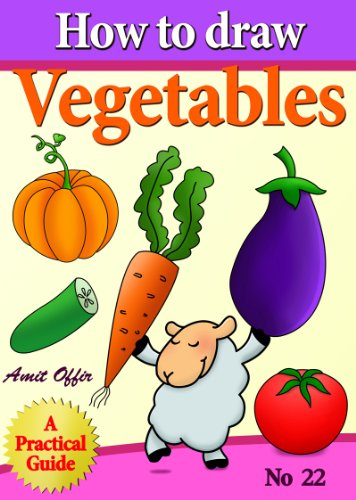 How to draw vegetables how to draw comics and cartoon characters book 22 by