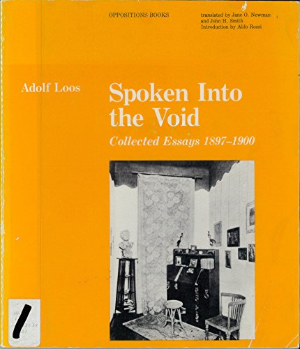 spoken into the void collected essays As hickey sails off into announced self-imposed exile from art criticism,  he's  giving up art criticism, it's not as if he's leaping from art criticism into the void   mostly from two short books—the invisible dragon: four essays on beauty (art   we also [speak] the word beauty and respond to its being spoken.
