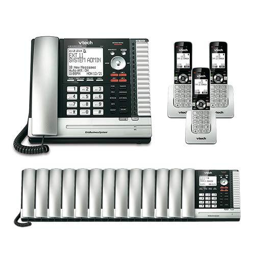 VTech UP416 Office Bundle Corded Phone System (13) UP406 Corded Extension Deskset (3) UP407 Cordless Handset by VTech (Image #3)