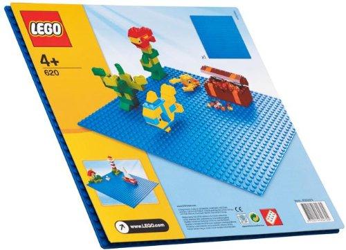 LEGO 620 Blue Building Plate