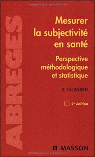 Mesurer la subjectivité en santé   Perspective méthodologique et  statistique (Ancien prix éditeur   39 f3525586bf1a