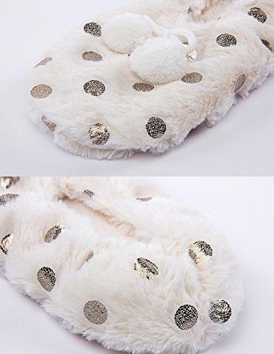 Pantofole Da Casa Di Natale Sfocate Delle Donne Maamgic Delle Signore Pantofole Da Camera Dinverno Dellinterno Carino Camera Da Letto