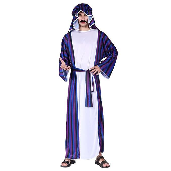 6e4a8c8e0f2f Zhhlaixing - Disfraz de árabe para Adultos Disfraz Halloween ...