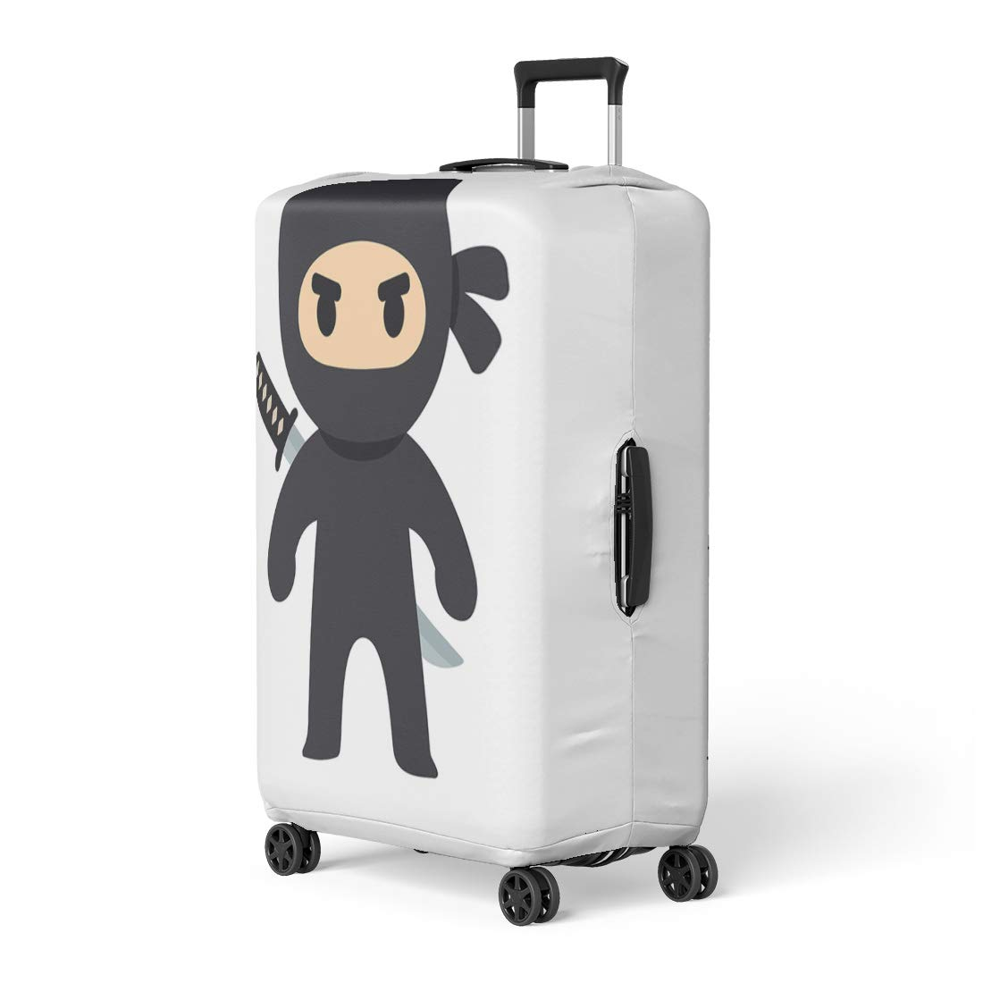 Amazon.com: Pinbeam Luggage Cover Anime Cartoon Ninja ...