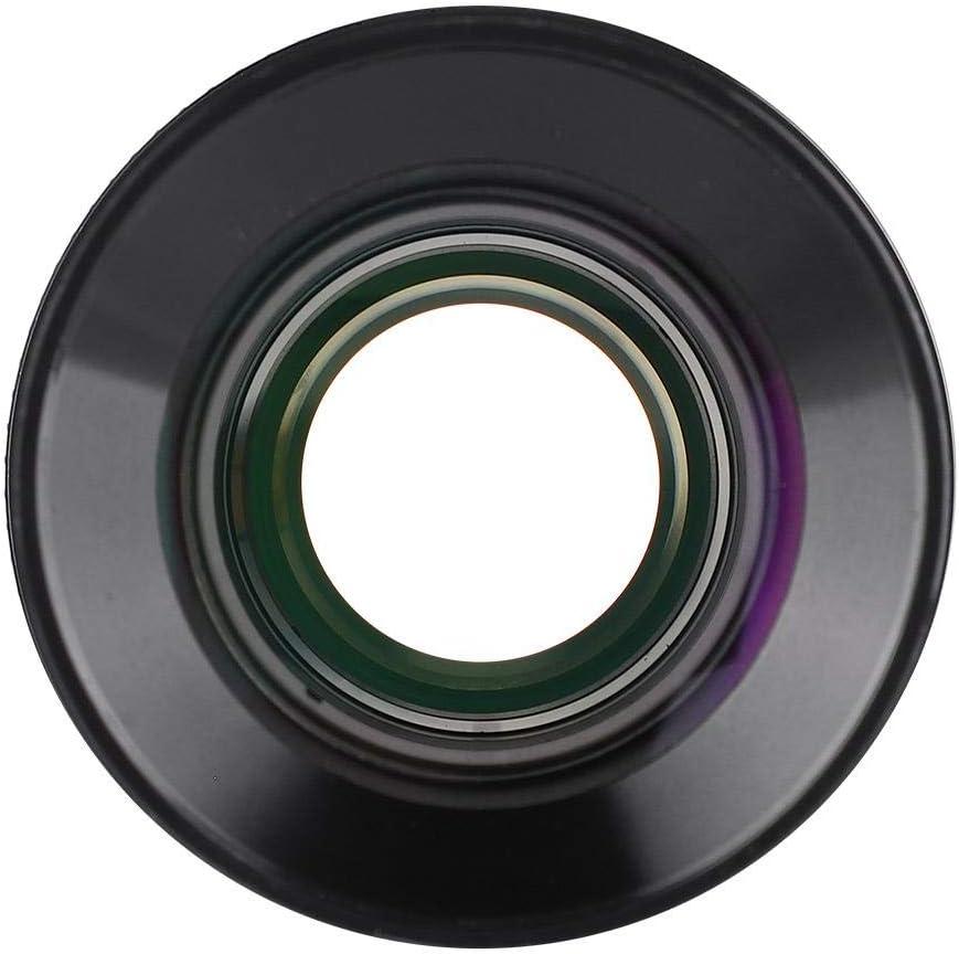 Wandisy 2 Inch F20mm UW80 80-Deg Ultra Wide Angle Eyepiece for Astronomical Telescope