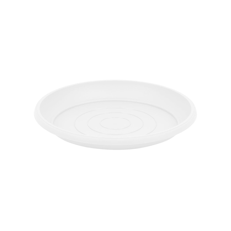 Terra soucoupe en plastique, blanche couleur, diametre: 25 cm Prosperplast