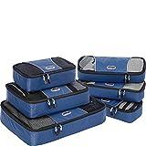 eBags Packing Cubes - 6pc Value Set (Denim)