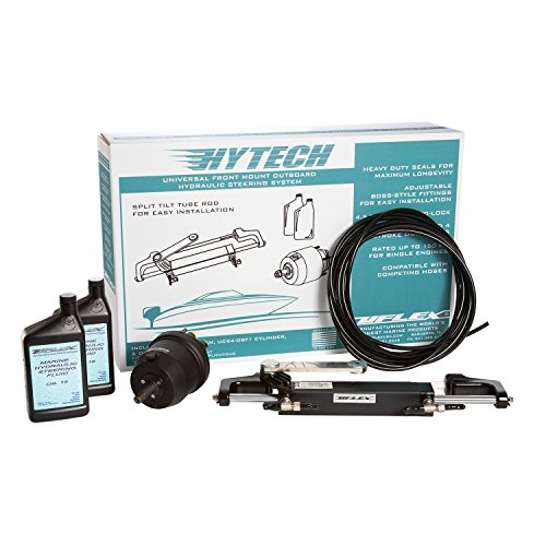 Uflex HYTECH 1.0 Hytech 1.0 Hydraulic Outboard Steering - Pack Hydraulic Outboard