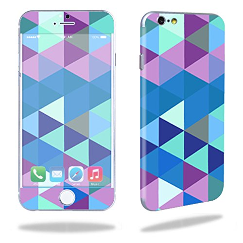 MightySkins Protective Vinyl Skin Decal Compatible with Apple iPhone 6/6S Plus wrap Cover Sticker Skins Purple Kaleidoscope