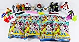 Fisher Price Imaginext Series 4 Collectible Figure Set of 8 (Sealed In Packs) - Boxer, Snowboarder, Witch, Space Gorilla, Evil Robot, Clown, Basketball Player & Mad Scientist