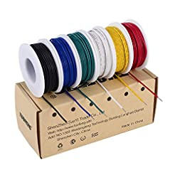 TUOFENG 22 awg Solid Wire-Solid Wire Kit...