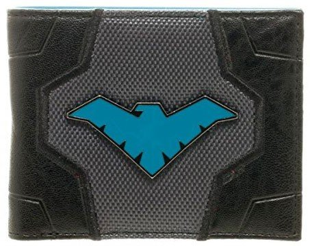 DC Comics Nightwing Suit Up Bifold Boxed - Dc Wallet Comics