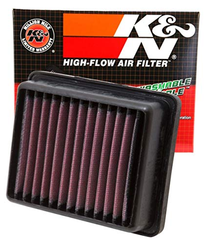 K&N Engine Air Filter: High Performance, Premium, Powersport Air Filter: 2011-2019 KTM (RC125, RC390, 200 Duke, RC200, 125 Duke, 250 Duke, 390 Duke) KT-1211, Black, One Size