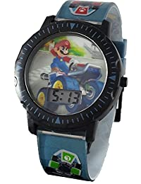 Mario Kid's Digital Watch with/Light Up Bracelet
