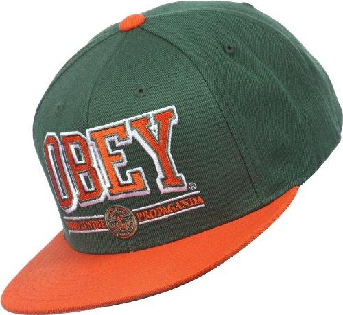 Obey green - - Gorra para hombre color verde: Amazon.es: Deportes ...