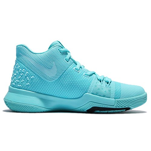 low cost 814e0 9c832 ... purchase nike boys kyrie 3 colorblock mids basketball shoes 32aea ef96b