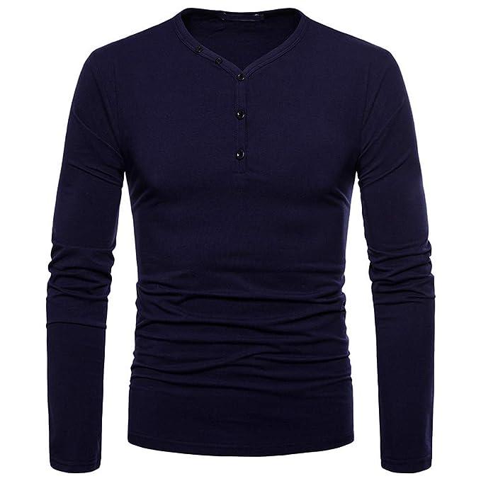 BaZhaHei, Polo de Hombre, Personalidad de los Hombres de Moda Slim Fit Camisa de