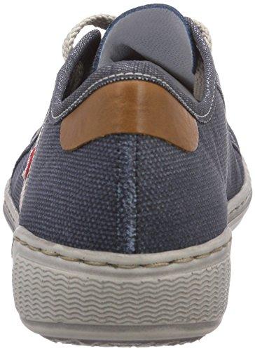 Rieker 42412, Baskets Basses femme Bleu (Denim/Jeans/Nuss / 15)