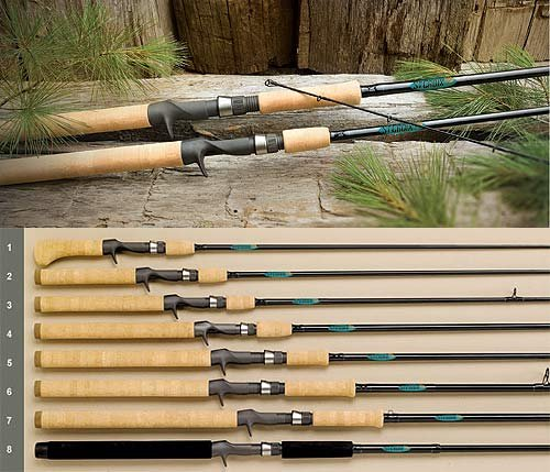 Cheap St. Croix Premier Musky Rod, PM80XHF