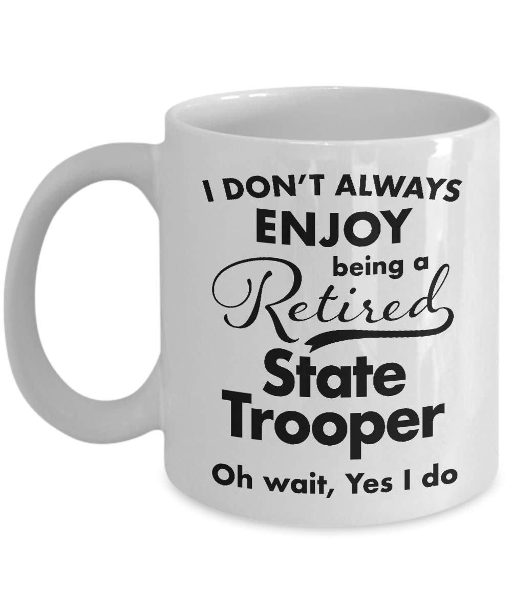Best State To Retire In 2020.Amazon Com Retirement Gifts For State Trooper Coffee Mug