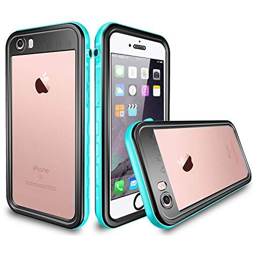 iPhone 6 / 6s Waterproof Case, Tomplus 6.6ft Underwater Waterproof Shockproof Dirtproof Snowproof Full Sealed Protective Case for Apple iPhone 6 / 6s 4.7 inch (Blue)