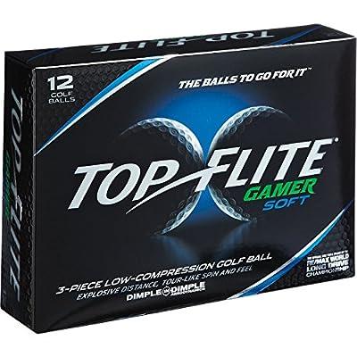 Top-flite Gamer Low Compression 3-piece White Golf Balls
