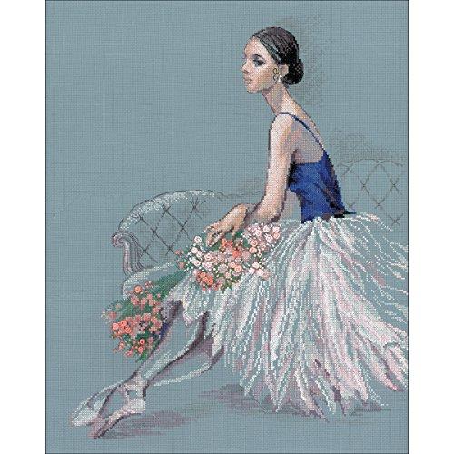 14k Ballerina - RIOLIS Counted Cross Stitch Kit 15.75