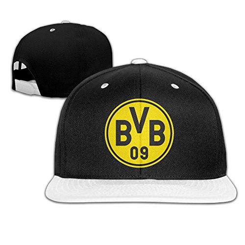 LAOdaa 2016 UEFA Borussia Dortmund Logo Adjustable Snapback Baseball Cap Hip-hop Hats