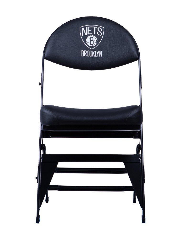 Spec Seats Official NBA Licensed X-Frame Courtside Seat Brooklyn Nets