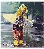 Cute Kid's Duck Raincoat Children Umbrella