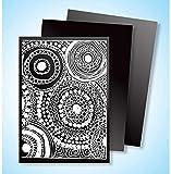 Melissa & Doug 8236 Scratch Art Scratch and Sparkle Artist Trading Cards - 52-Pack
