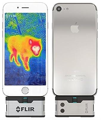 FLIR ONE IOS Thermal Imaging Camera for iPhone 7 / iPhone 7 Plus / iPhone SE / iPhone 6 / iPhone 6 Plus /iPhone 5 / iPhone 5s .