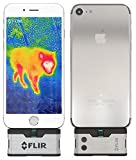 FLIR ONE IOS Thermal Imaging Camera for iPhone X , iPhone 8 , iPhone 7 / iPhone 7 Plus / iPhone SE / iPhone 6 / iPhone 6 Plus /iPhone 5 / iPhone 5s . WITH FREE FLIR POWERBANK!
