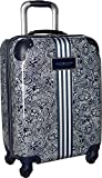 Tommy Hilfiger Unisex TH-683 Pineapple Palm 21'' Upright Suitcase Black One Size