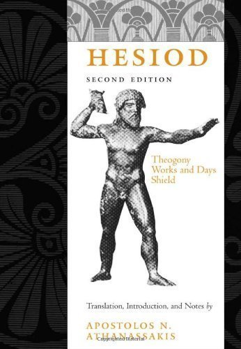 Hesiod: Theogony, Works and Days, Shield 2nd (second) Edition by Hesiod published by The Johns Hopkins University Press (2004) ebook