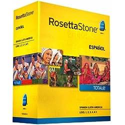 Rosetta Stone Spanish (Latin America) Espanol Version 4 Level 1-5 Set Latest Version