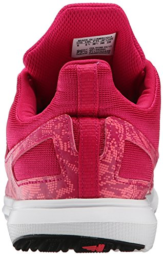 Adidas Performance Hyperfast 2.0 K Zapatilla deportiva (niño pequeño / niño grande) Pink/Flash Red/Pink/Black