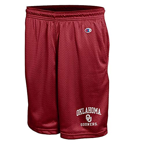 Elite Fan Shop Oklahoma Sooners Mesh Shorts - XXL - Red