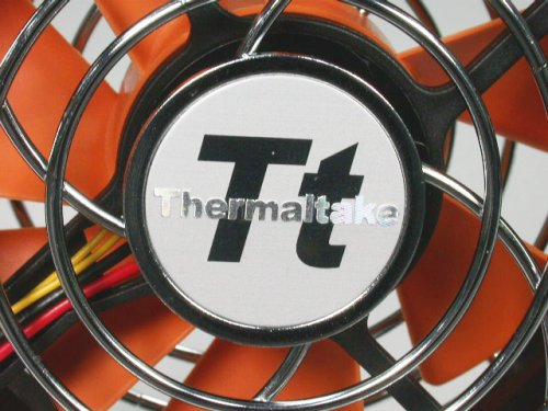 Thermaltake Mobile Fan II Adjustable Speed External USB Cooling Fan with One-touch Retractable USB power cable box for Notebook Laptop Desktop. A1888 by Thermaltake (Image #2)