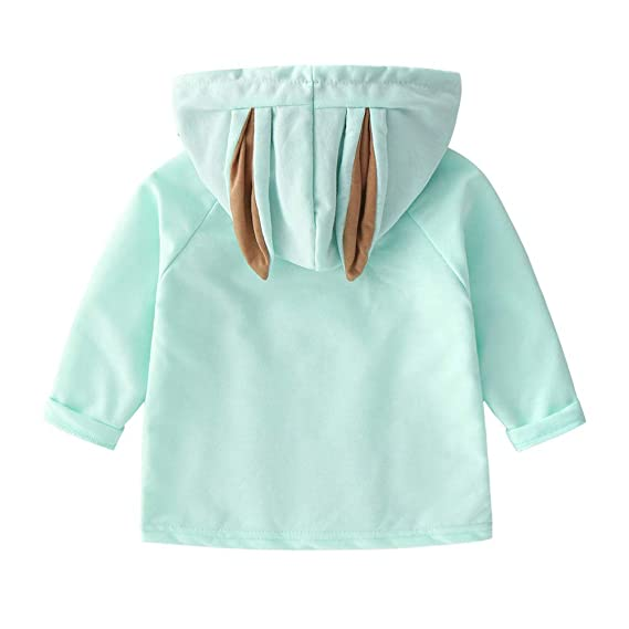963a87ccf CATSAP Toddler Baby Girls Boys Long Sleeve Rabbit Ears Hooded ...