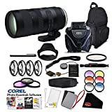 Tamron SP 70-200mm f/2.8 Di VC USD G2 Lens (International Version)(No Warranty) for Canon EF Pro Accessory Kit